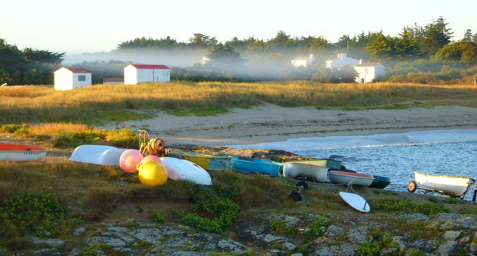 Petit matin sur la côte Nord de l'Île d'Yeu