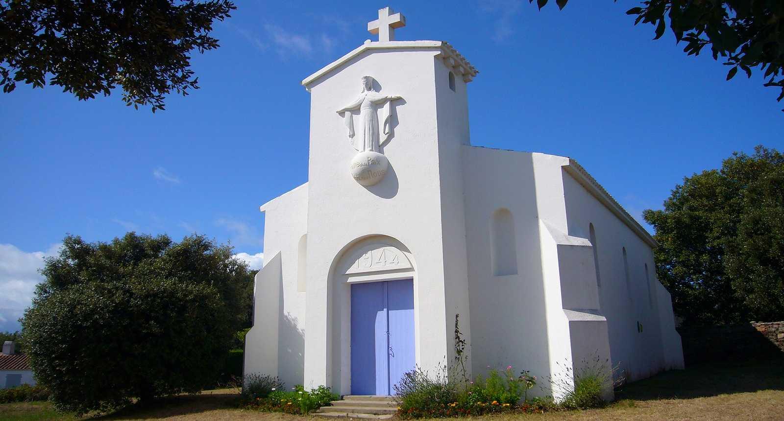 La Chapelle derrière Port-Joinville sur l'Île d'Yeu