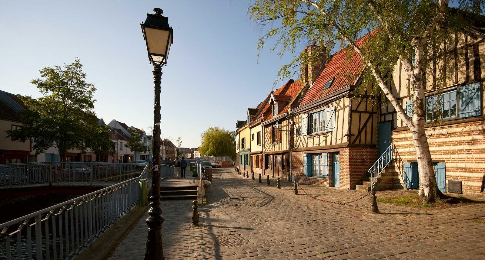 Le Quartier Saint-Leu, à Amiens