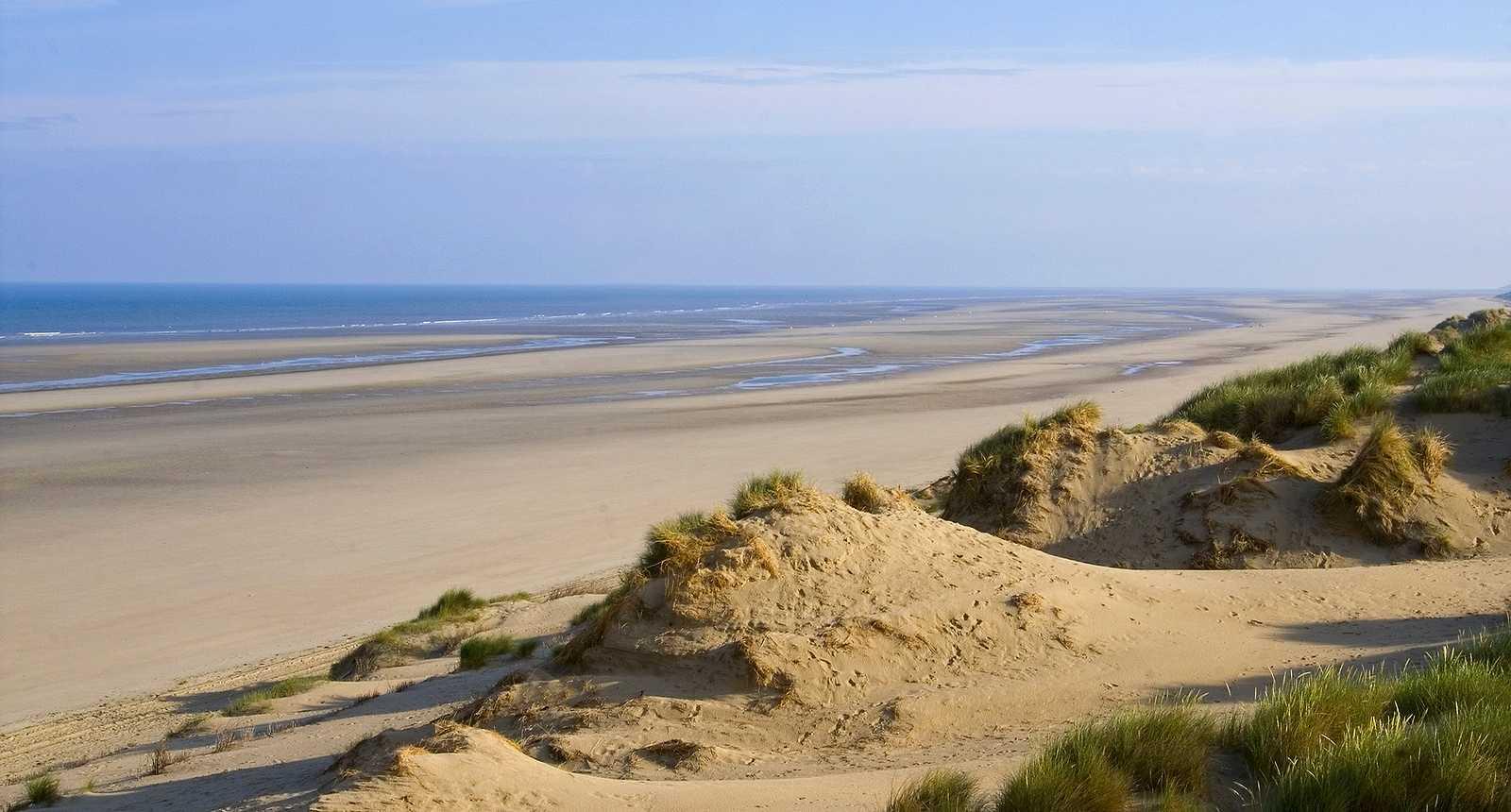 Le sentier des Garennes, au milieu des dunes de Berck-sur-Mer