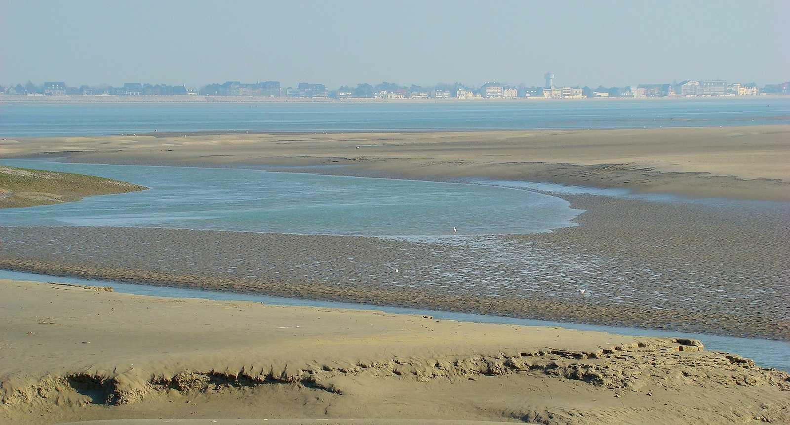 Photo la baie de somme vue du hourdel 2840 diaporamas - Office de tourisme de la baie de somme ...