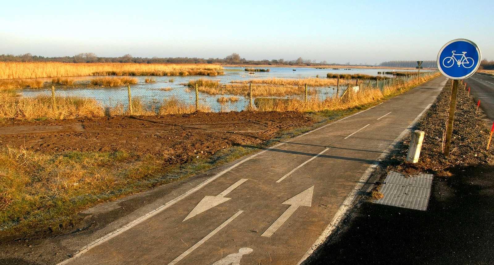 Les pistes cyclables autour de la Baie de Somme