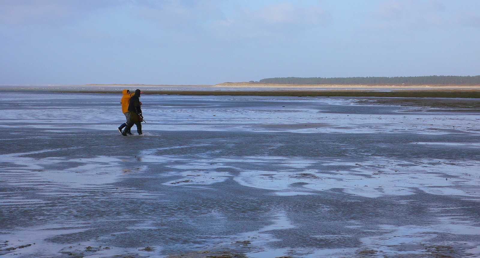 Pêcheurs en Baie de Somme