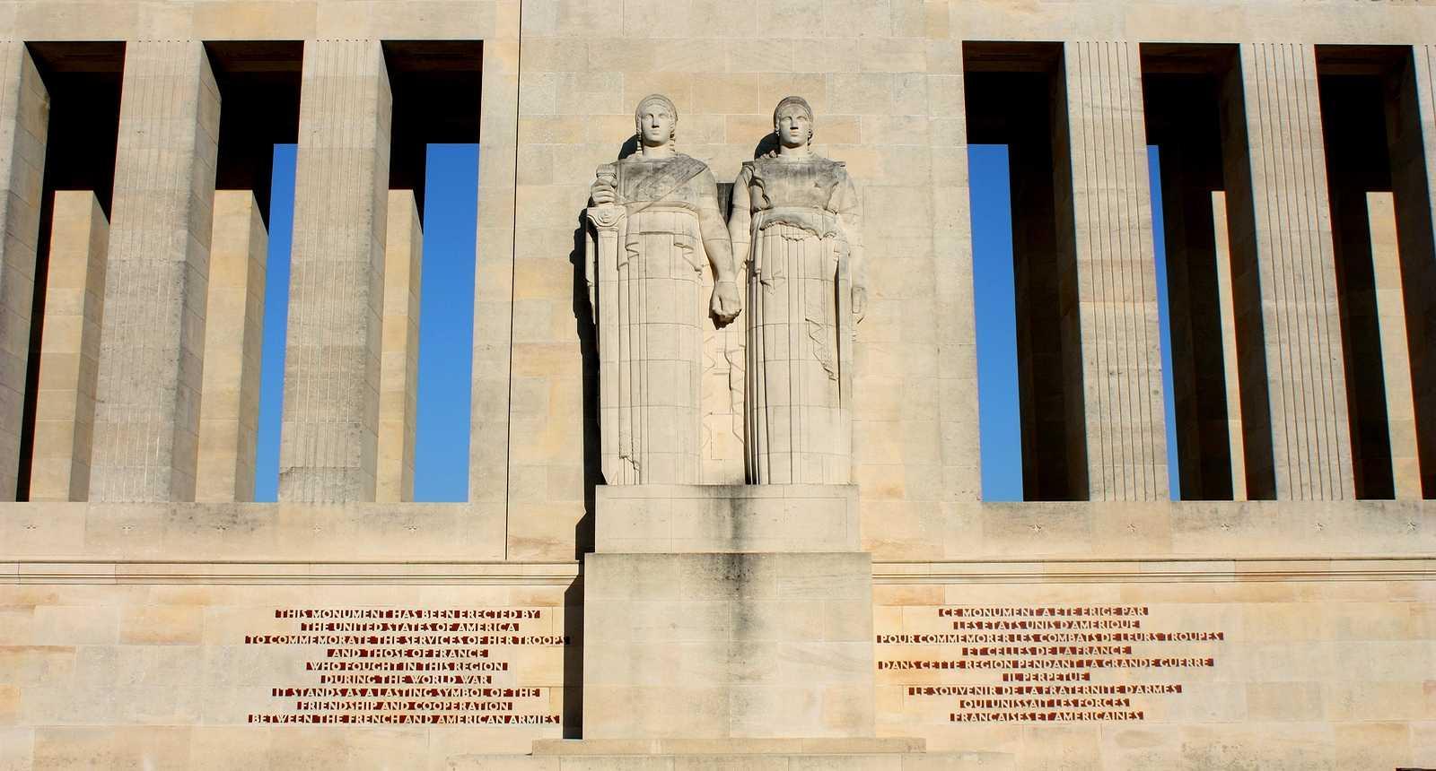 Le Mémorial américain de Château-Thierry