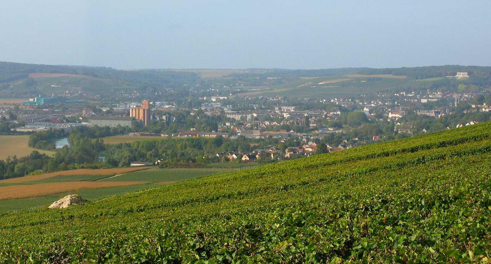 Panorama sur Château-Thierry
