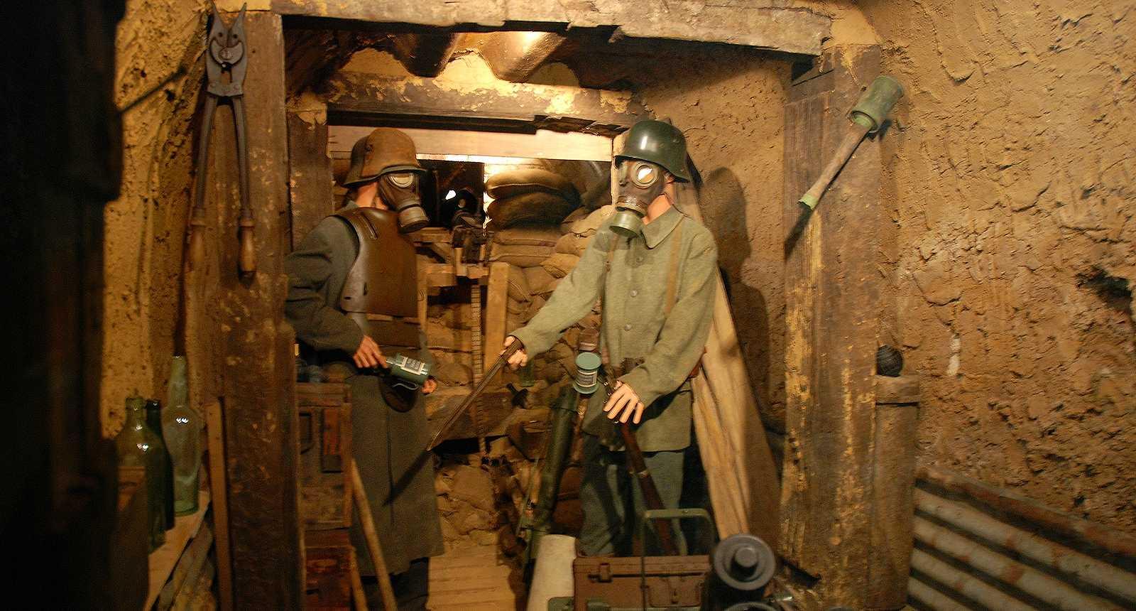 Musée de la 1ère Guerre Mondiale à Albert