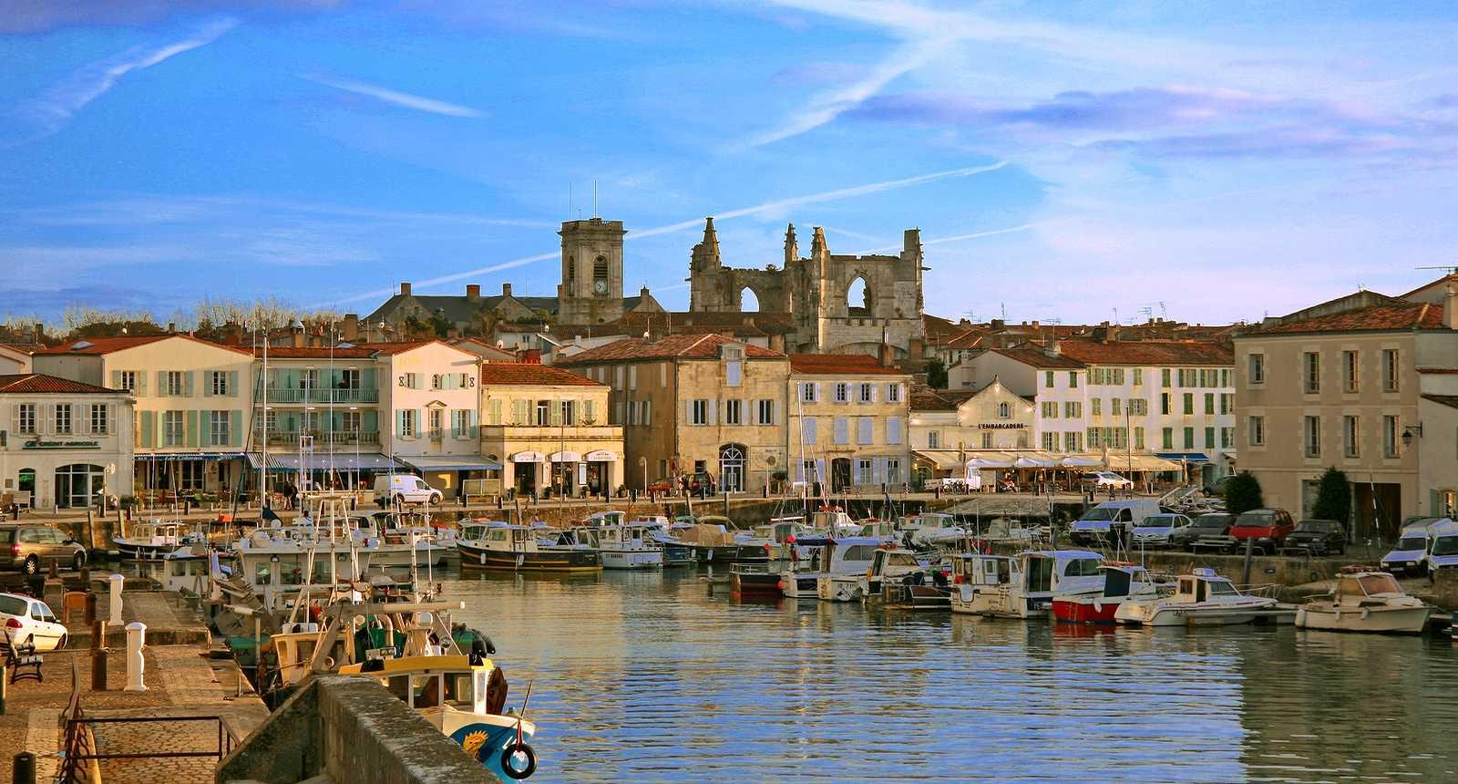 Le port de Saint-Martin-en-Ré