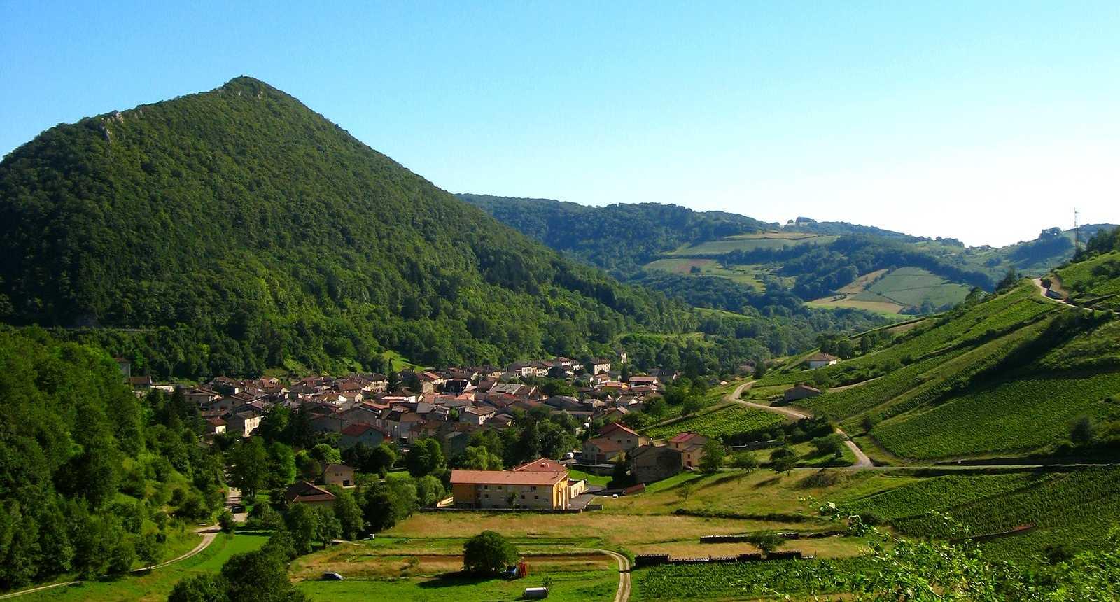 Village et vignes de Cerdon