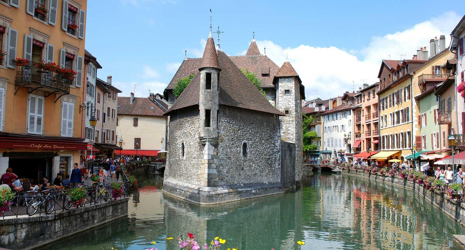 La vieille prison d'Annecy