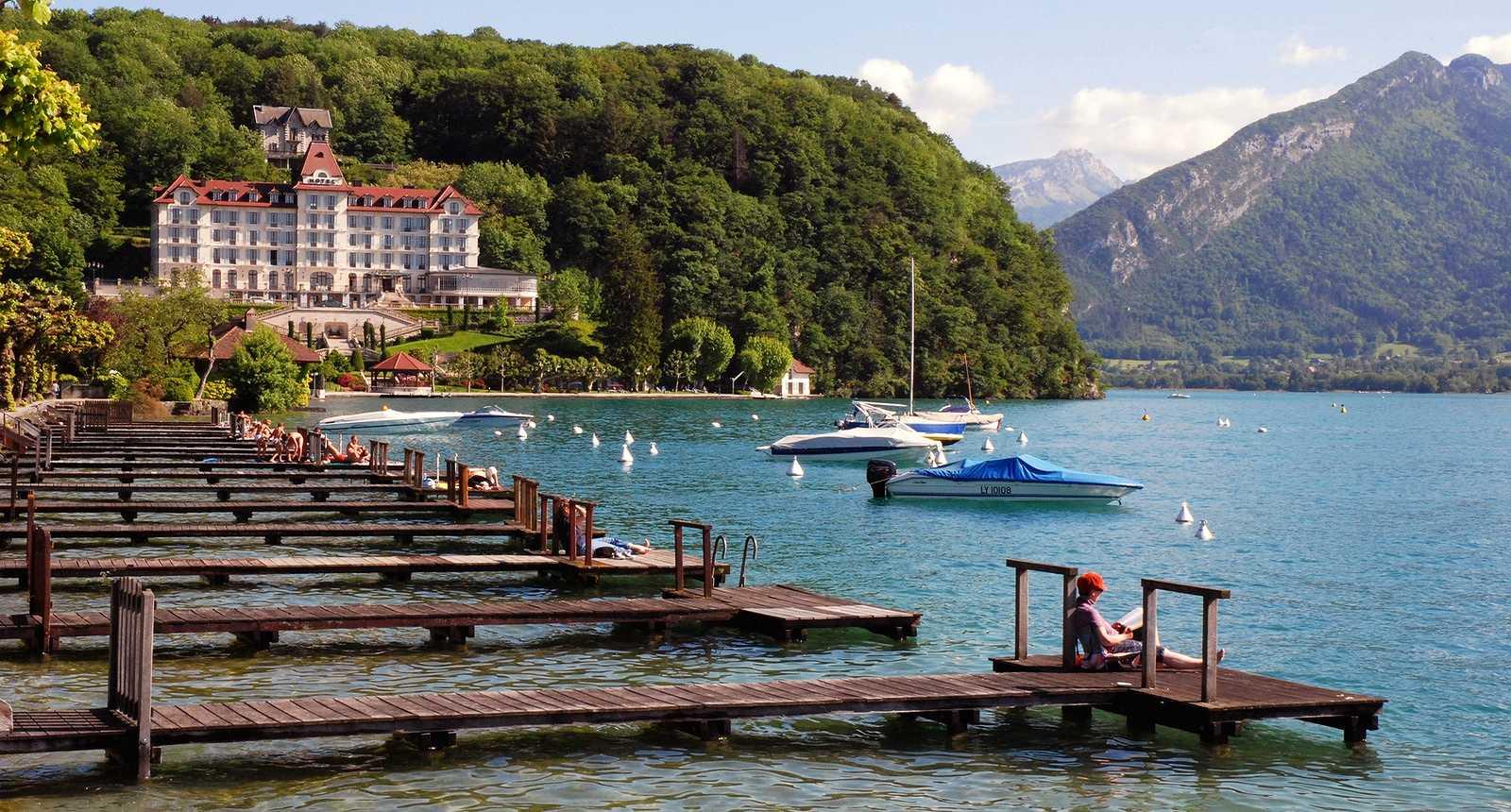 Menthon au bord du Lac d'Annecy