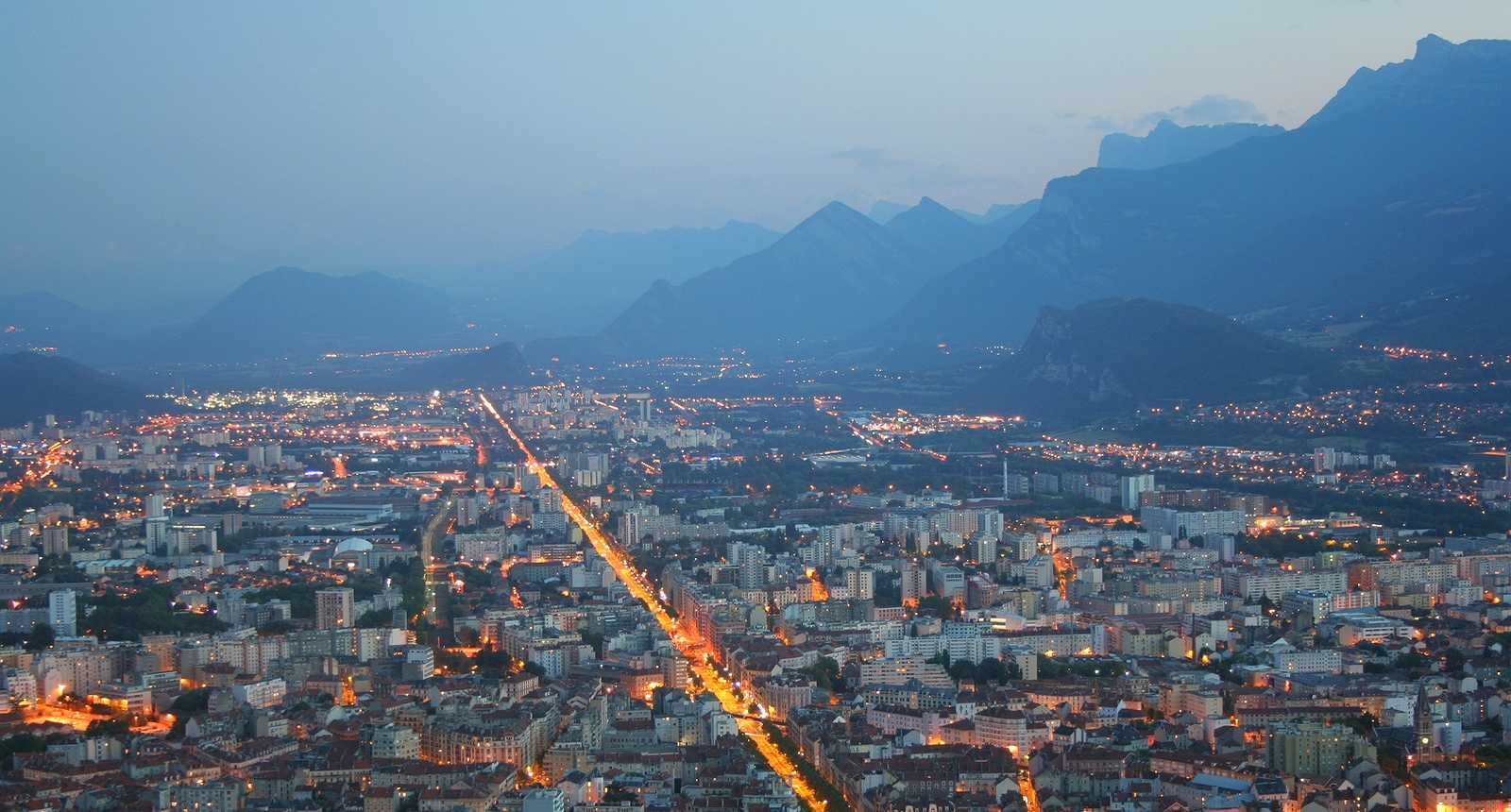 Visite De La Ville De Grenoble
