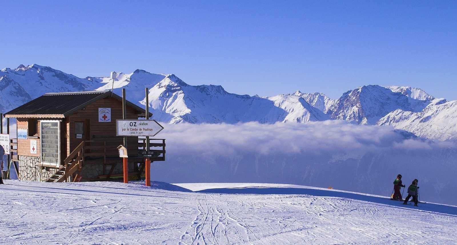 Joies du ski à l'Alpe d'Huez