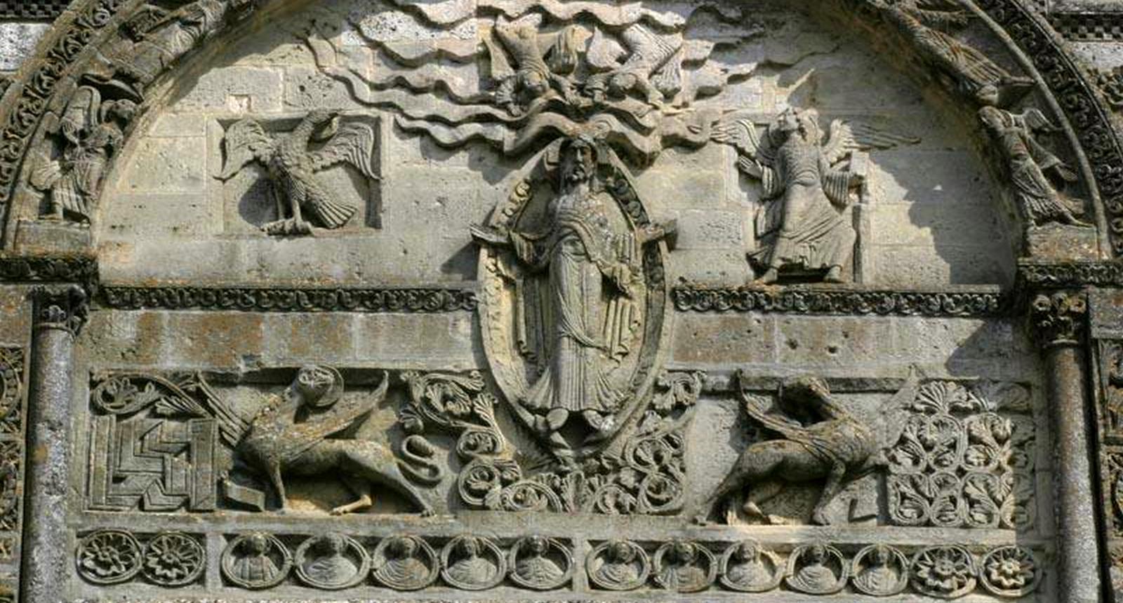 Façade de la cathédrale Saint Pierre_Angoulême