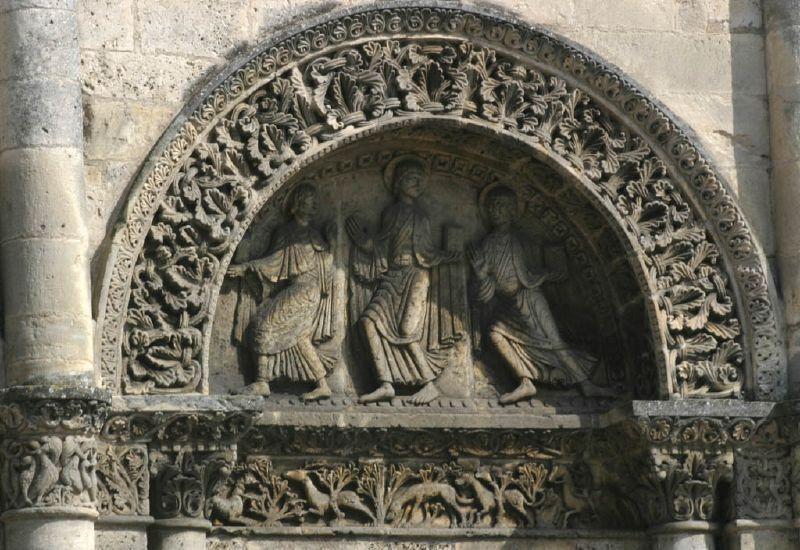 Façade de la cathédrale Saint Pierre_Angoulême (1)