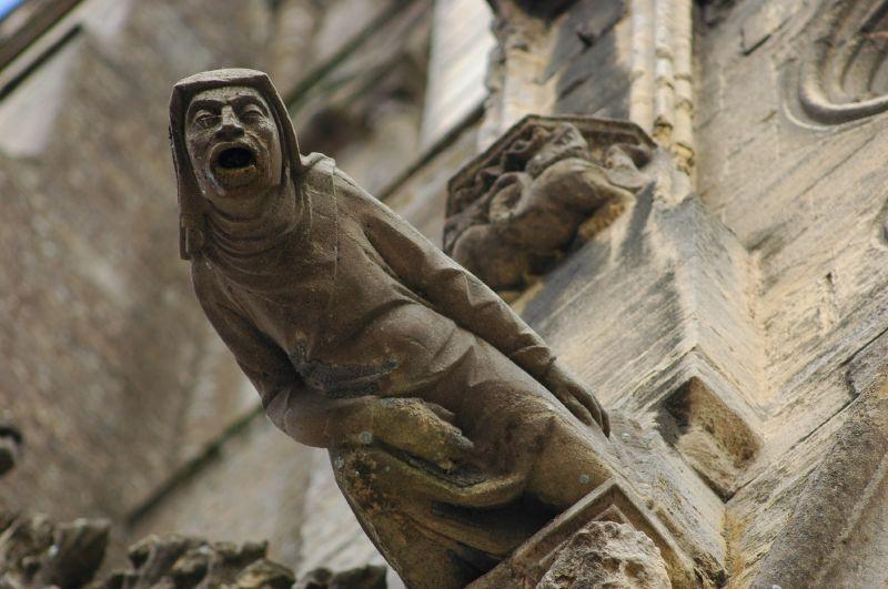 Gargouille à la Cathédrale Notre-Dame_Bayeux