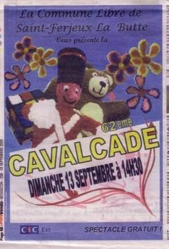 Image : Cavalcade  Saint-Ferjeux
