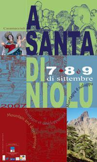 Fête de la nativité de la vierge a santa di u niolu