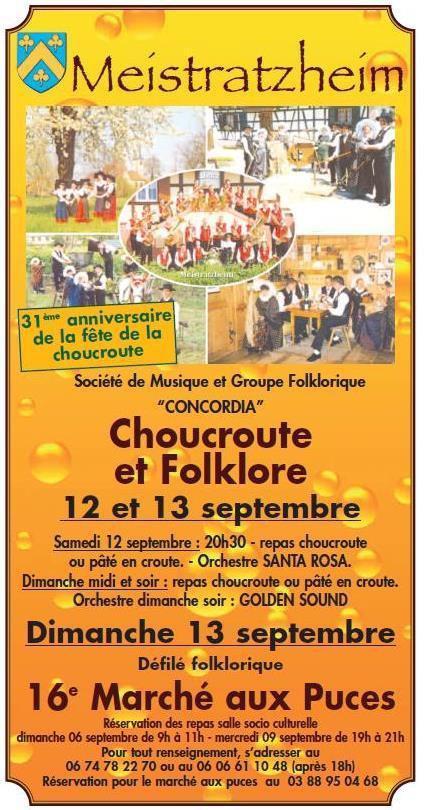 Fête de la choucroute et du folklore