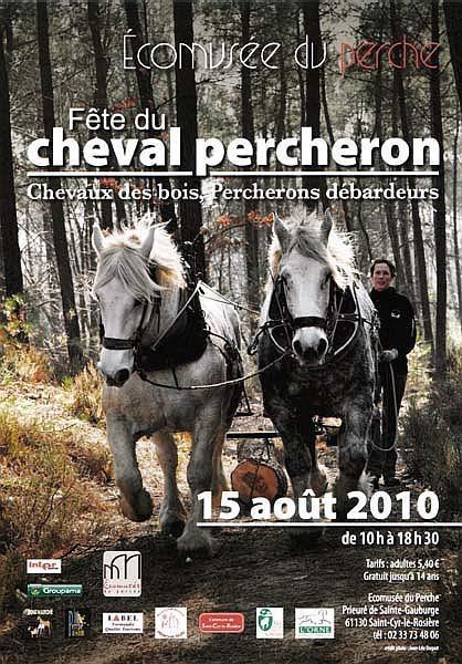 Fête du cheval percheron, chevaux des bois et chevaux débard