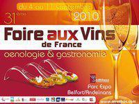 Foire aux vins de France et gastronomie - Belfort
