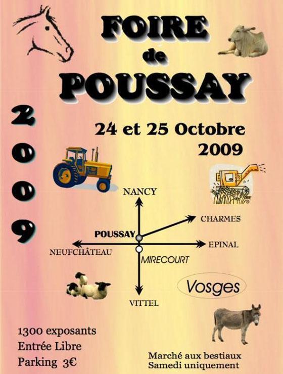 Foire de Poussay