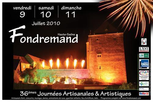 Journées artisanales et artistiques - Fondremand