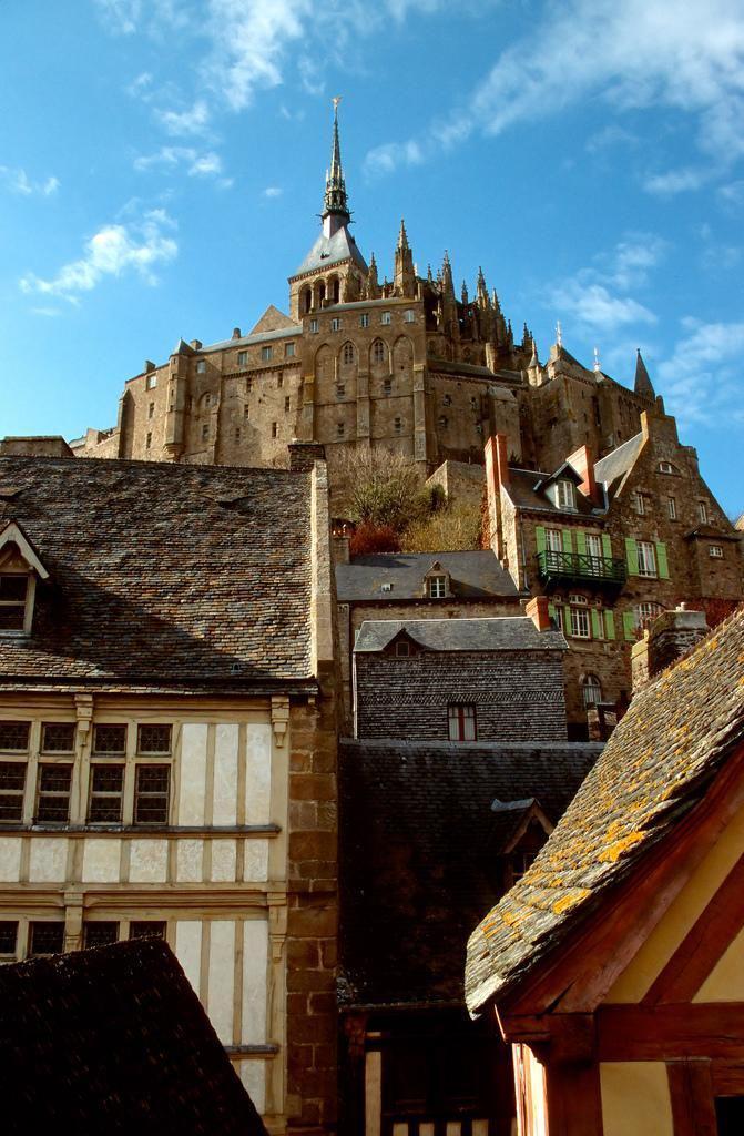 L'abbaye_Le Mont-Saint-Michel