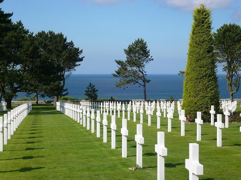 Cimetière militaire US_Colleville-sur-Mer (1)