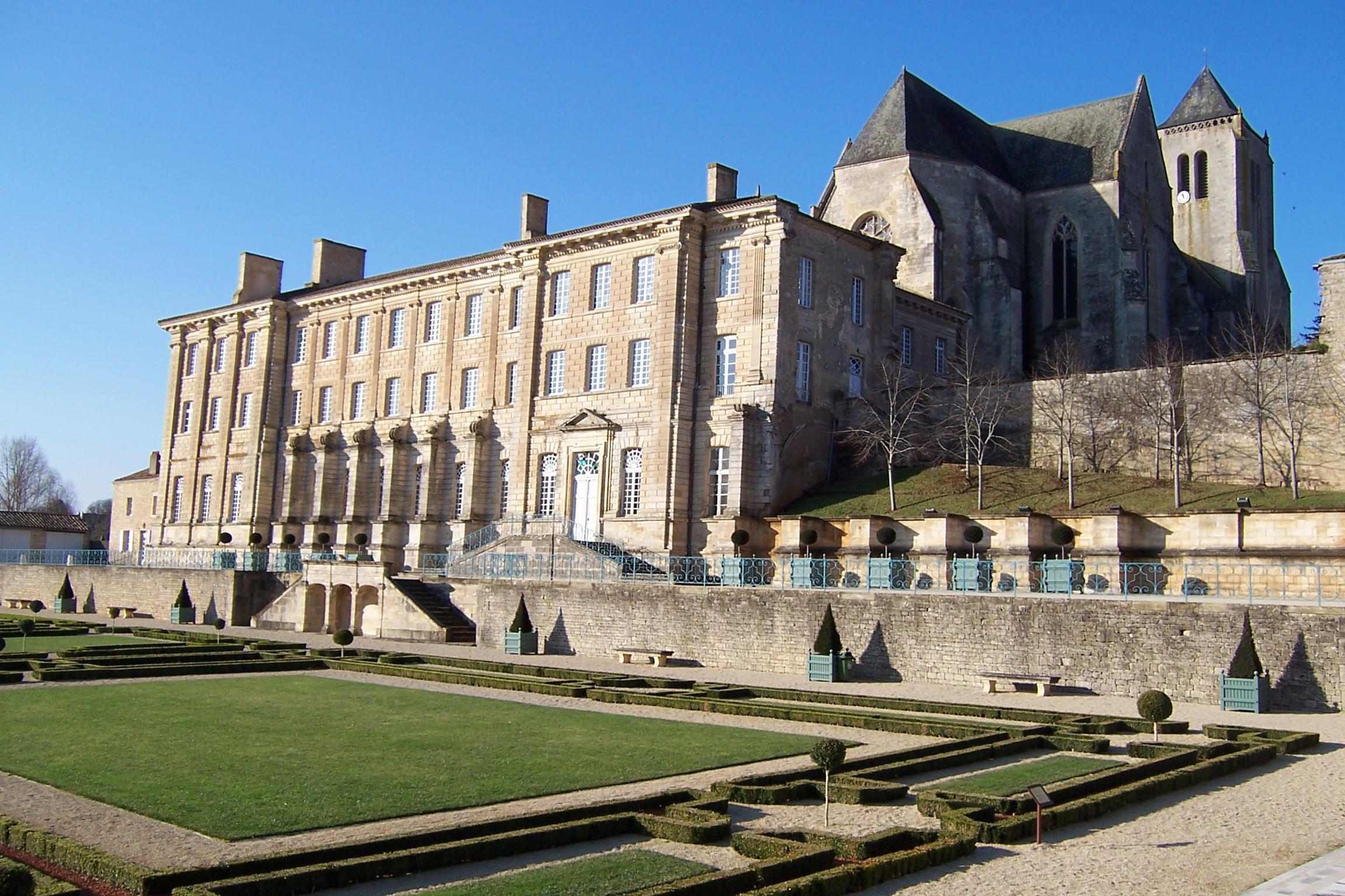 Celles sur Belle - Abbaye royale