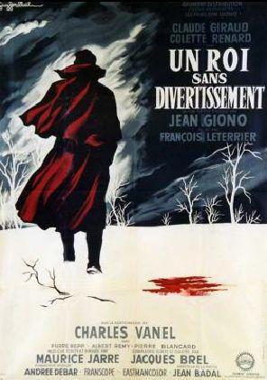 """Affiche du filme """"Un roi sans divertissement"""""""