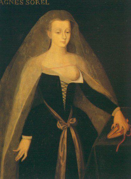Portrait d'Agnès Sorel