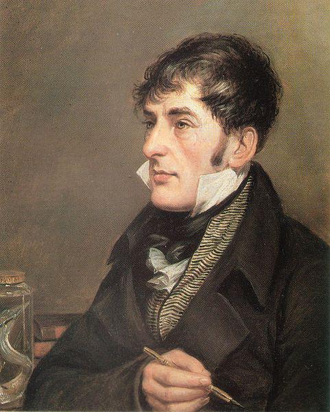 Portrait de Charles-Alexandre Lesueur, peint par Charles Willson Peale