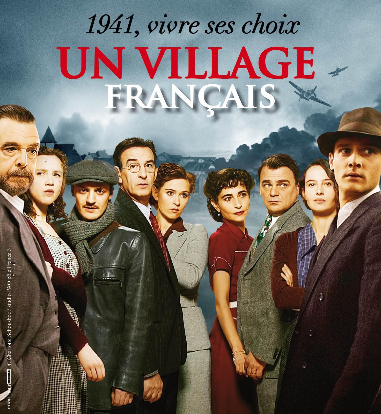 Un village fran ais saison 1 lieu de tournage theuville 95810 val d 39 oise 95 - Acteur un village francais ...