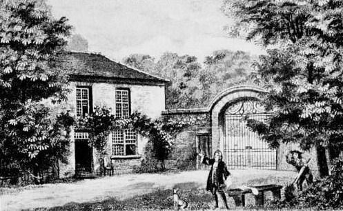 Maison de Boileau à Auteuil