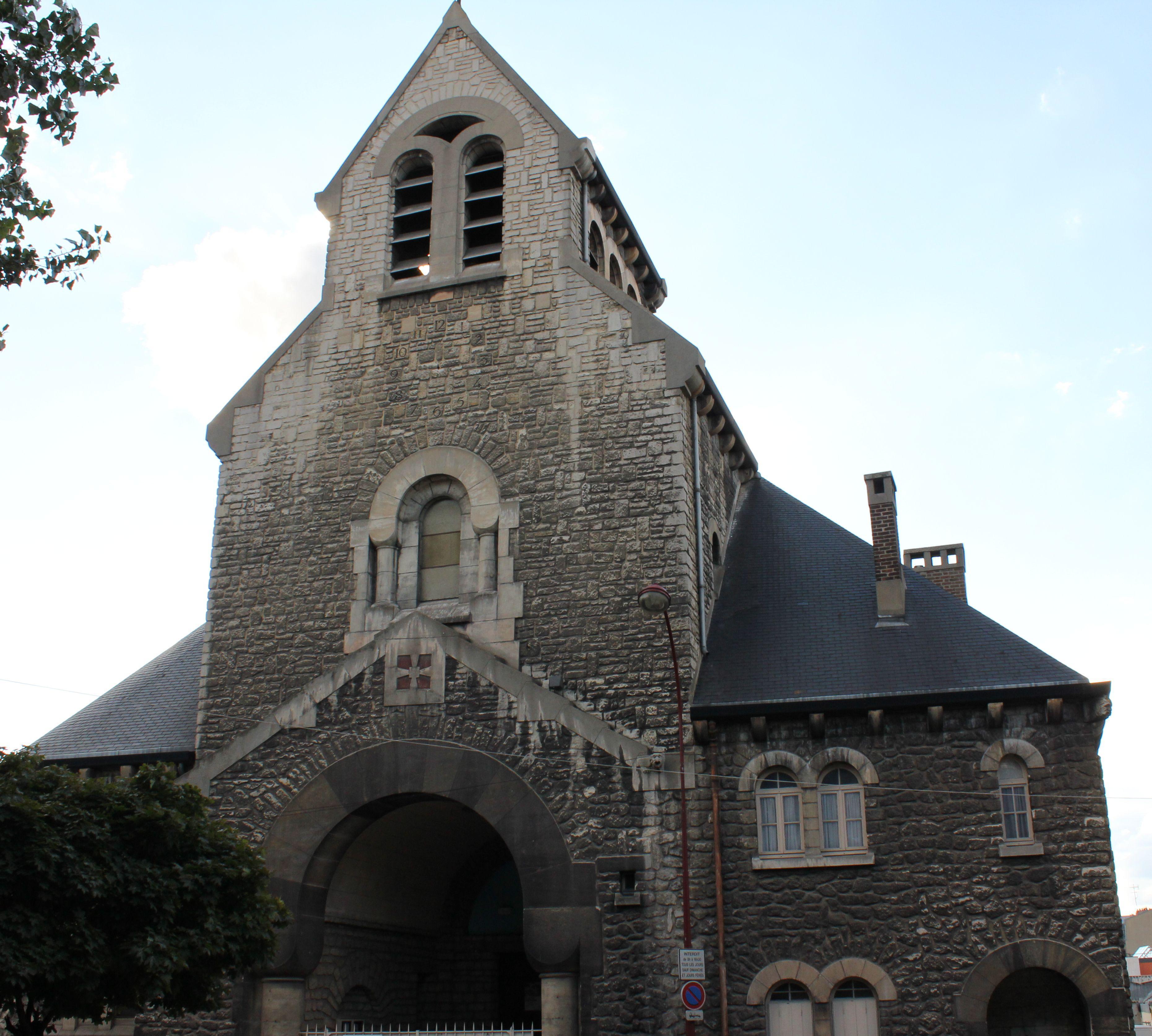 Eglise de la Sainte Famille au Pré-Saint-Gervais