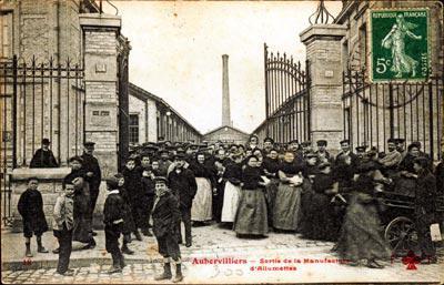 Ancienne Manufacture d'alumettes d'Aubervilliers