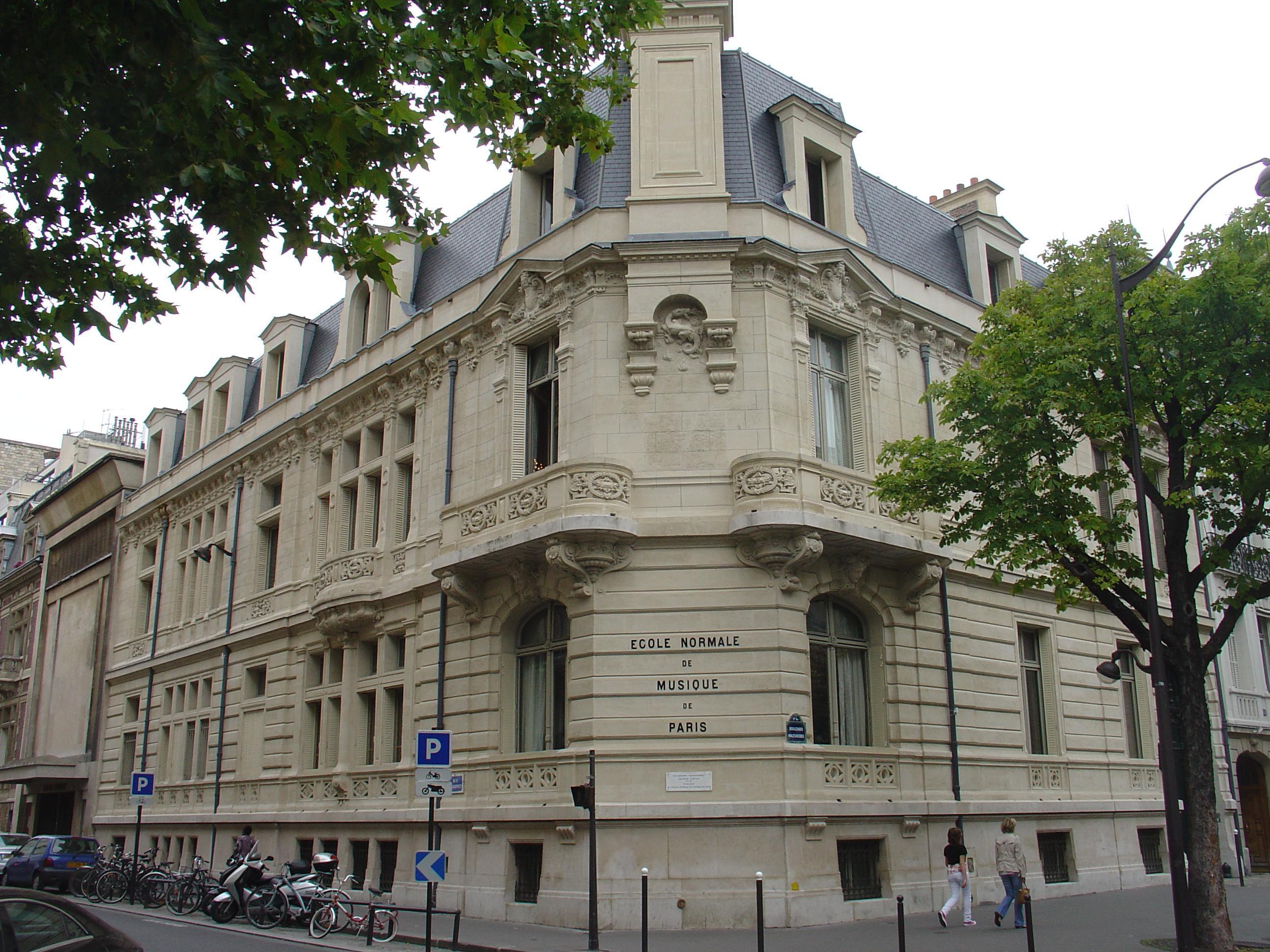 Ecole normale de musique de Paris Alfred Cortot