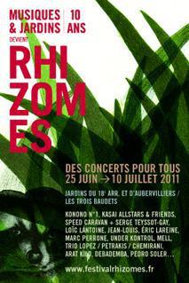 """Festival Rhizomes (ancien """"Musiques et Jardins"""")"""