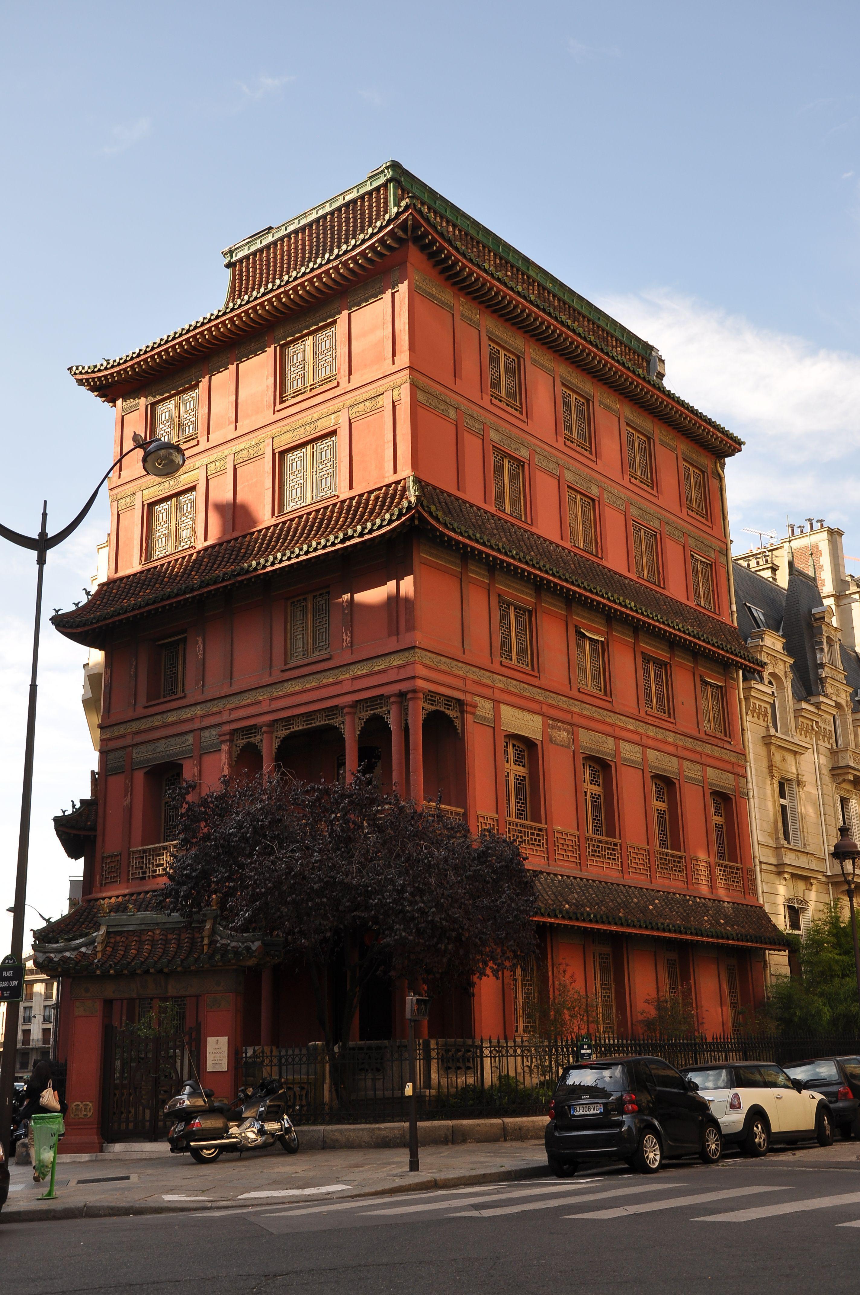 Pagode rouge - Maison Loo