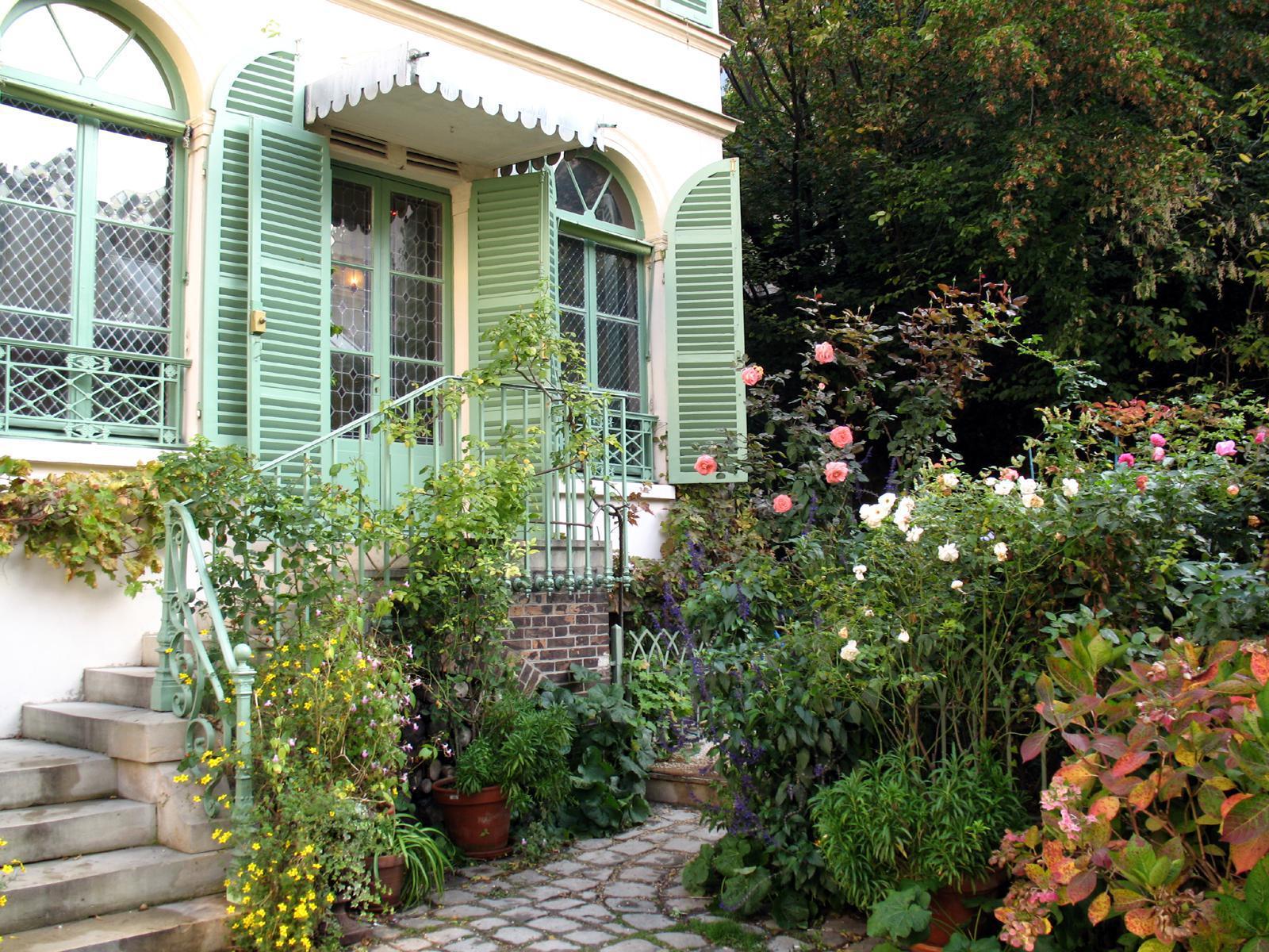 Guide de tourisme par commune paris 75 mus e espace - Musee de la vie romantique salon de the ...