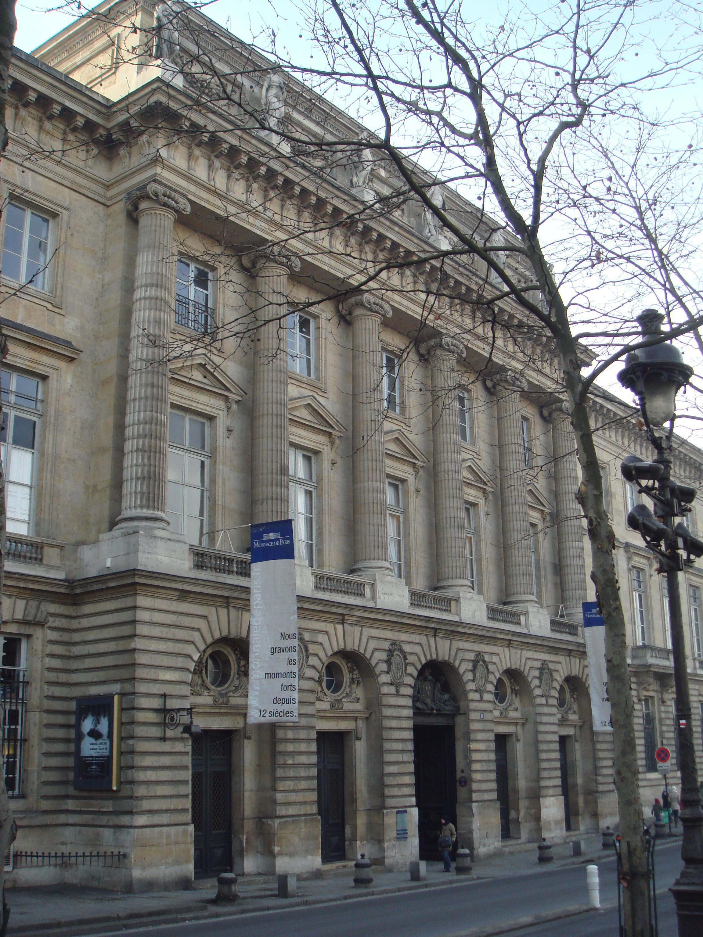 Musée des monnaies et médailles - Hôtel de la Monnaie, Paris