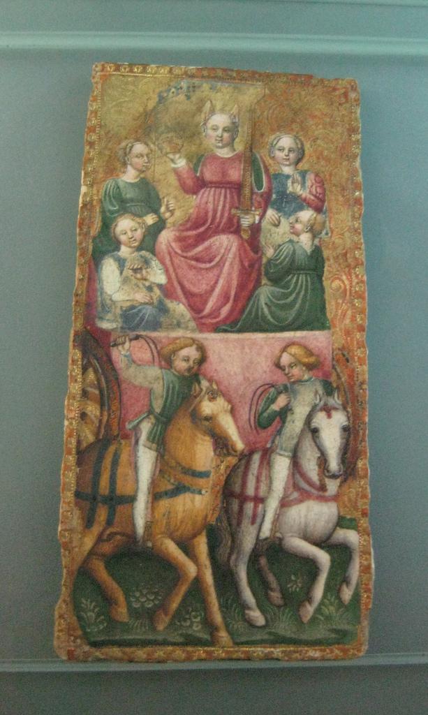Très ancienne carte de Tarot, Musée Français de la Carte à Jouer