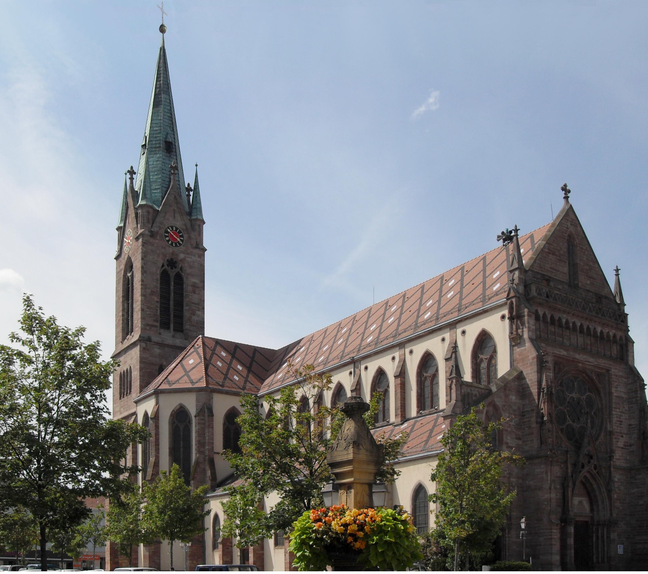 Cernay, église Saint-Etienne