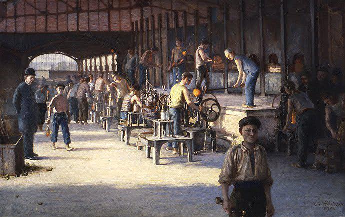 Musée des Arts du Cognac - La Verrerie Claude Boucher