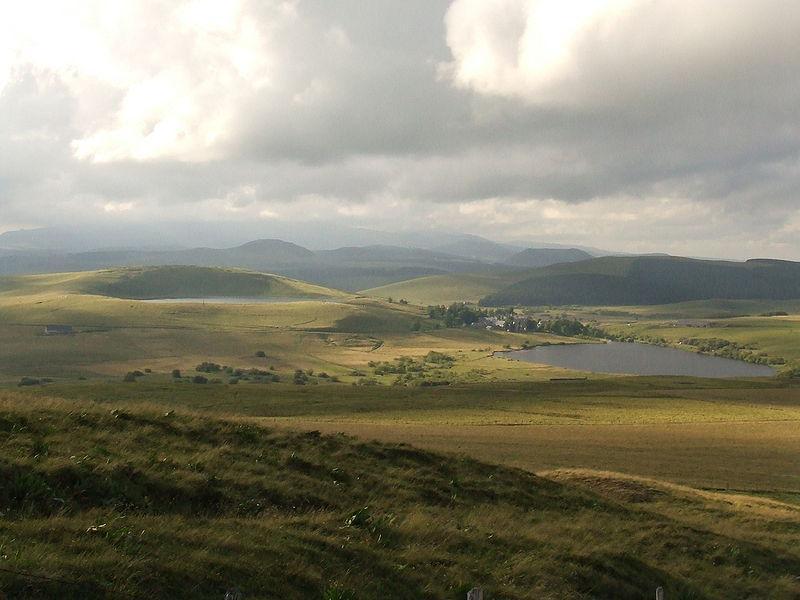 Réserve Naturelle des Sagnes de la Godivelle, les deux lacs
