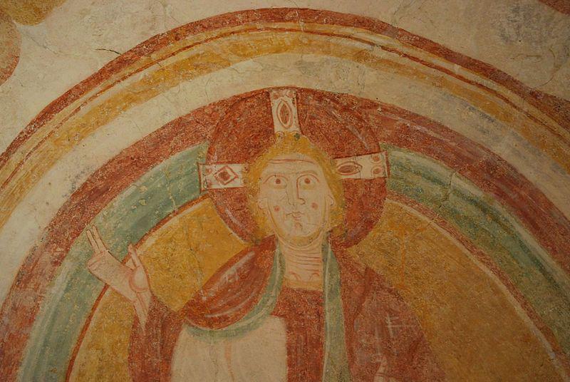 Palluau-sur-Indre, fresque romane du XIIe siècle