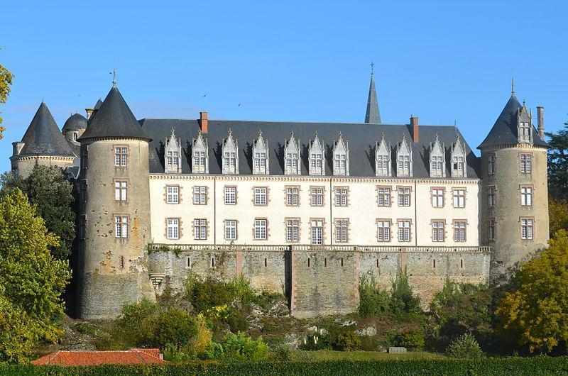 Beaupréau, le château