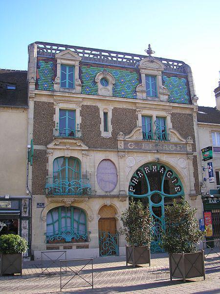 Pharmacie Art Nouveau, Douvres-la-Délivrande