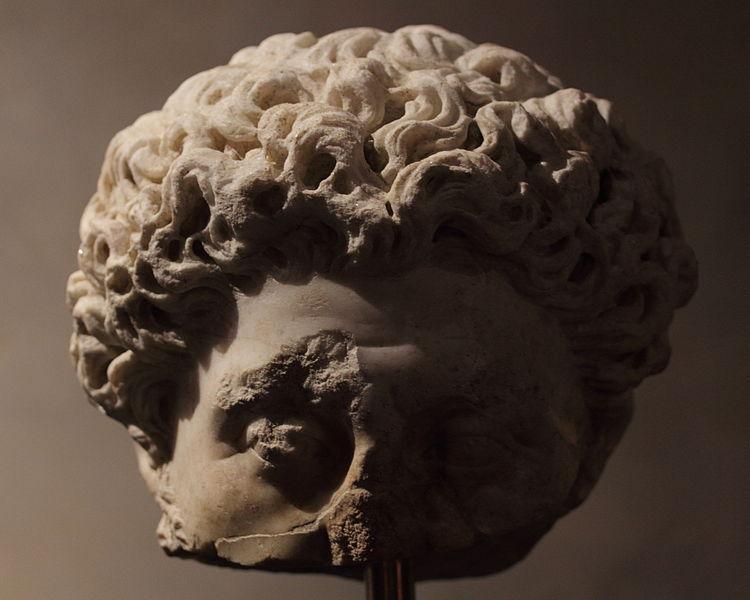 Villascopia, Tête de Marc-Aurèle âgé