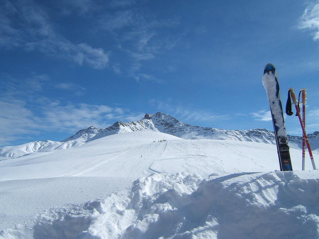 Col de la Madeleine, Station de ski de Doucy Combelouvière